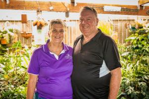 Derek & Della from Samford Valley Garden Centre