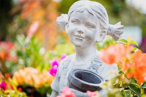 Garden Statue from Samford Valley Garden Centre